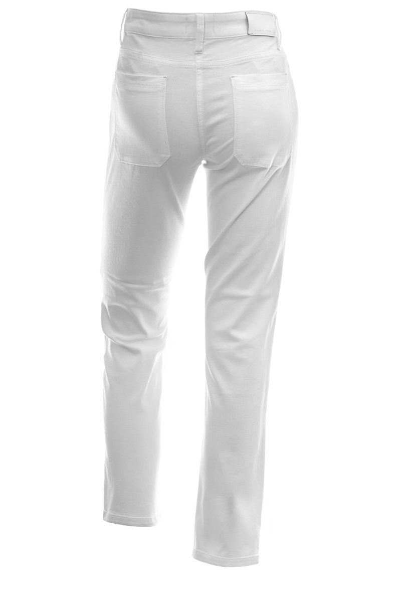 CAMBIO Jeans Tess Straight Fit white