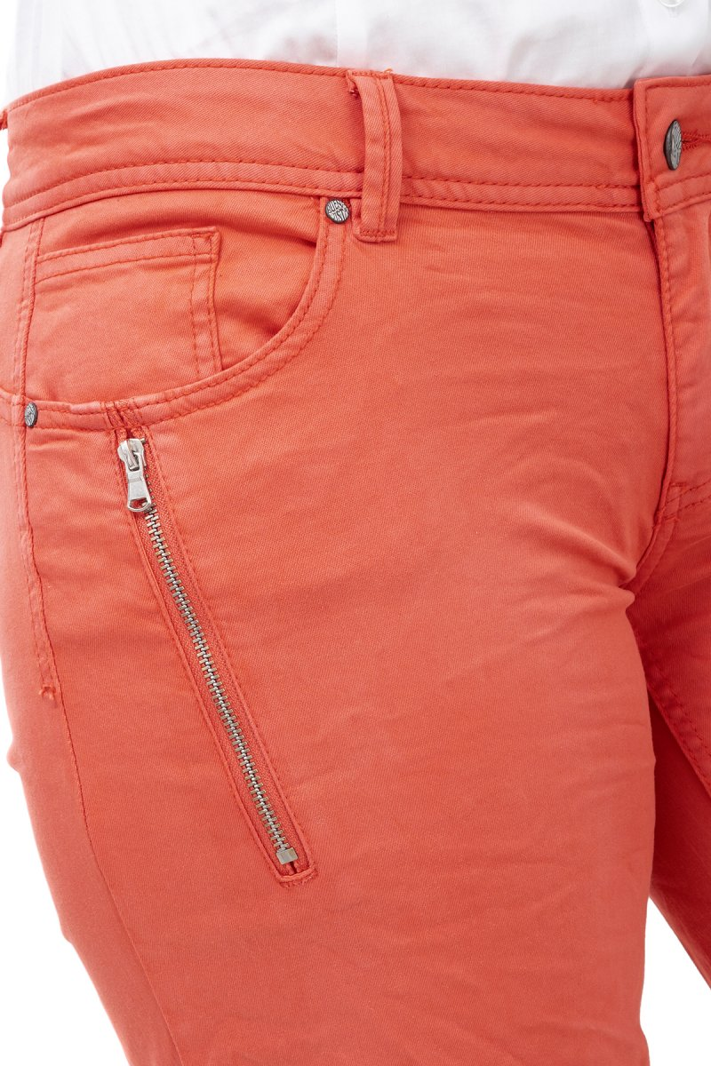 Buena Vista Hose Malibu K-Short stretch Slim Fit tangerine tango