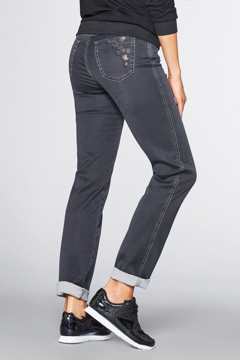 Toni Jeans Perfect Shape Slim Fit anthra used