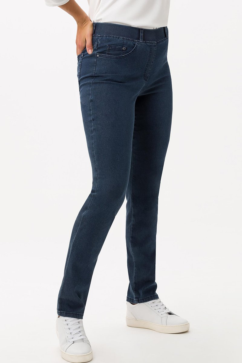 Raphaela by Brax Hose Lavina Slim Fit dark blue