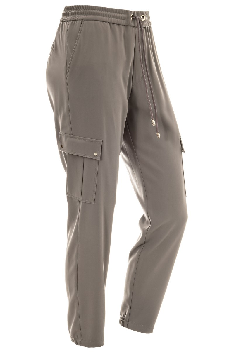 MAC Hose Easy cool cargo Straight Fit schlamm