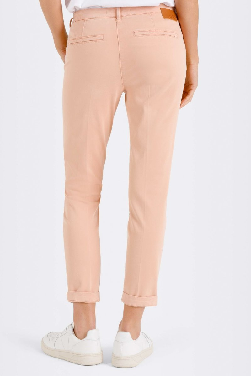 MAC Hose Chino turn up Slim Fit soft peach