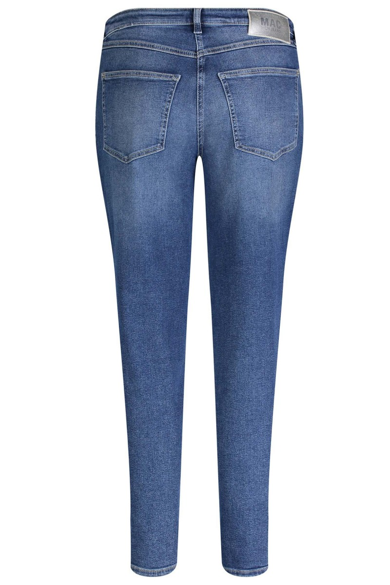 MAC Hose RICH Carrot Straight Fit blue authentic used wash