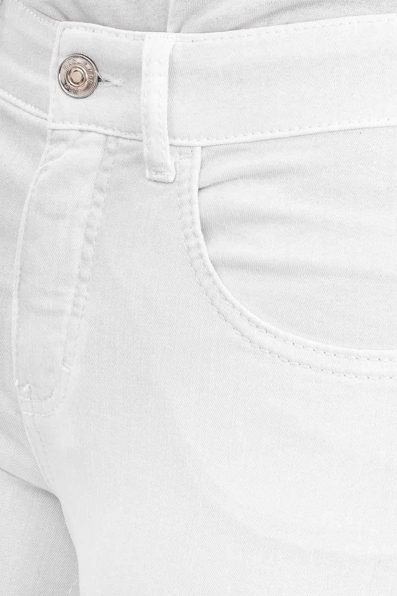 Mac Jeans Capri Slim Fit white