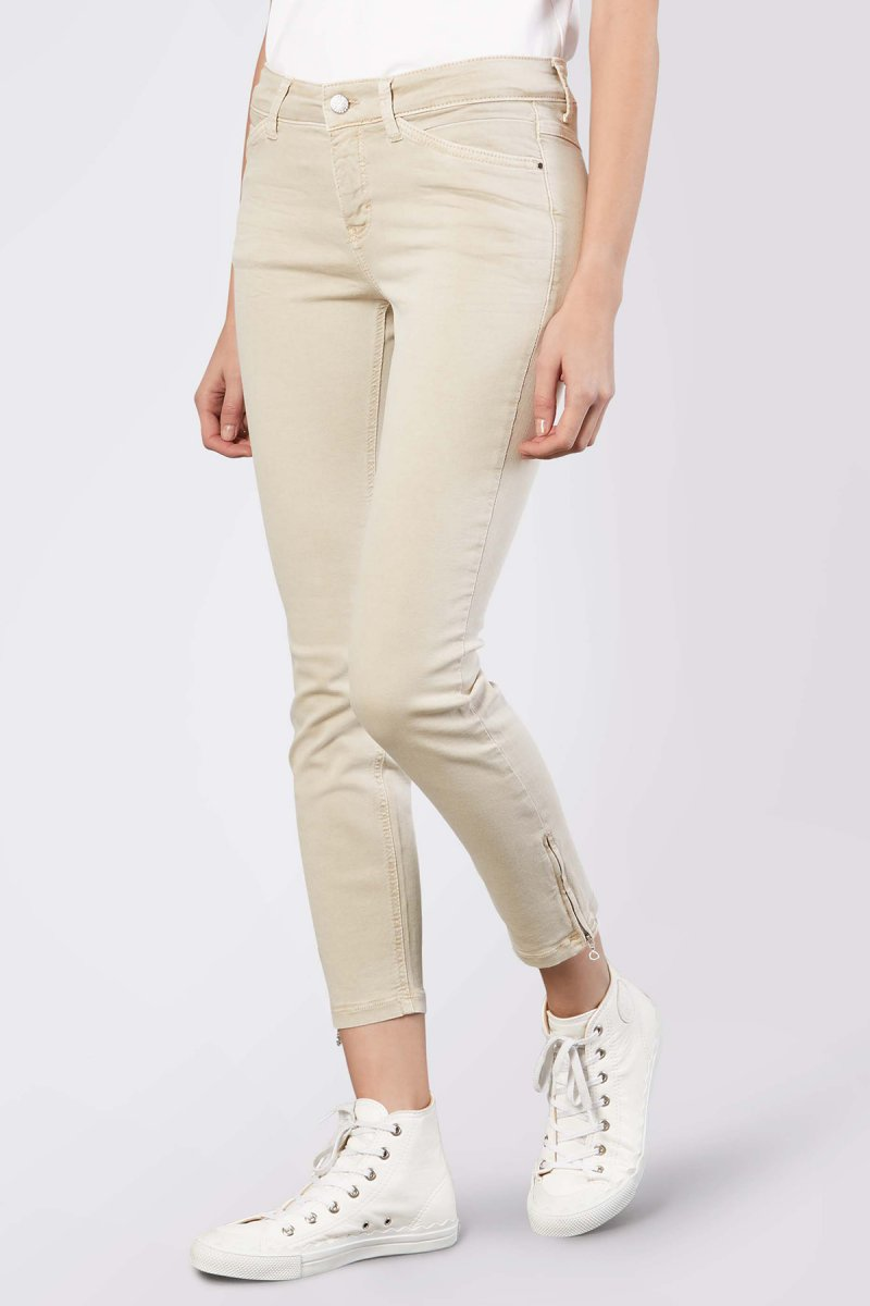 Mac Jeans Dream Chic Skinny/Röhre smoothy beige