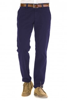 Alberto Hose Chino Lou regular slim fit marine