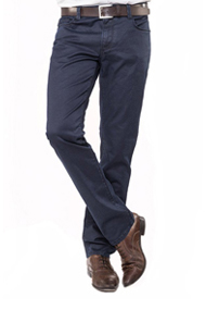Alberto Jeans PIPE Deep Coated Double Dye navy
