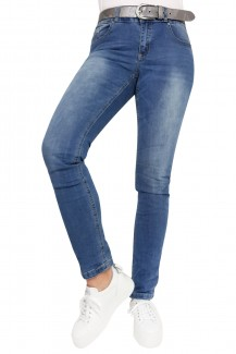 Buena Vista Jeans Tummyless stretch Skinny/Röhre light stone