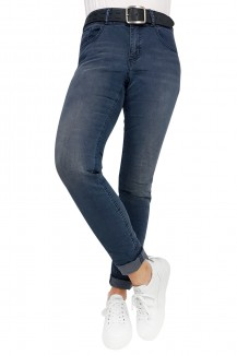 Buena Vista Jeans Tummyless stretch Slim Fit anthra denim