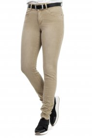 Buena Vista Jeans Tummyless stretch twill Skinny/Röhre toasted almond