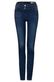 Cecil Jeans Toronto Straight Fit dark blue