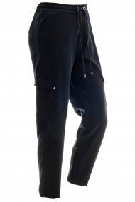MAC Hose Easy cool cargo Straight Fit dark blue