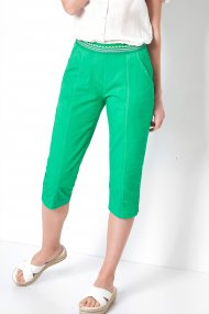 Toni Hose Sue Jogpants Capri Feminin Fit summer green