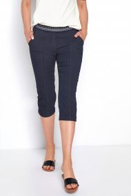 Toni Hose Sue Jogpants Capri Feminin Fit navy