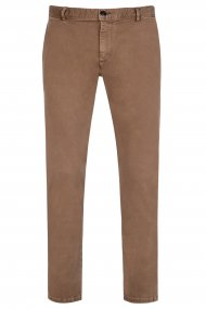 Alberto Chino Rob - DS Coloured Dual FX slim fit camel