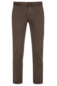 Alberto Chino Rob - DS Coloured Dual FX slim fit braun