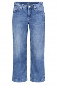 MAC Jeans RICH Culotte Feminin Fit mid blue washed