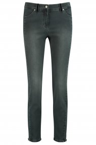 Gerry Weber Jeans SkinnyFit4me dark grey denim