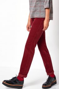 Toni Hose be loved Slim Fit trusty red