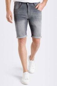 MAC Bermuda Jog'n light sweat denim ashgrey used