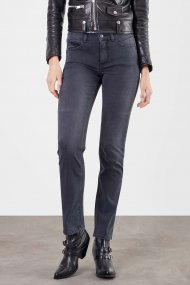 MAC Jeans Angela  PERFECT FIT FOREVER Straight Fit authentic black black wash