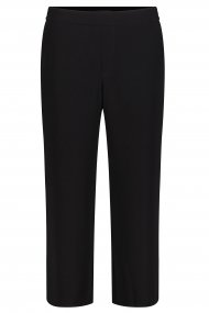 MAC Hose Chiara cropped Feminin Fit black