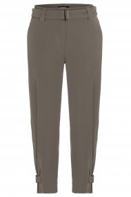 CAMBIO Hose Koko Straight Fit military khaki