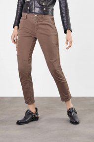 MAC Hose RICH Cargo Cotton Straight Fit nutria