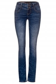 Street One Jeans Jane Slim Fit sportive blue indigo wash