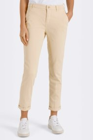 MAC Hose Chino turn up Slim Fit light sun