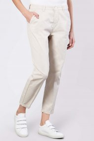 MAc Hose Chino turn up Straight Fit ivory PPT