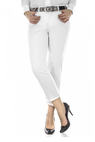 Mac Hose Conny Chic white