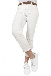 MAC Jeans Dream Chic Skinny/Röhre offwhite