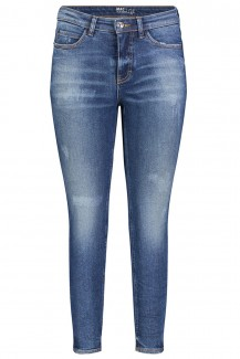 Mac Jeans Skinny Straight Fit mid blue wash