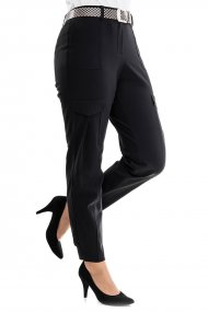 RAFFAELLO ROSSI Hose Sahima Straight Fit black