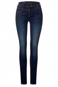 Street One Jeans York Slim Fit indigo stone wash