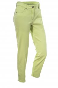 Toni Hose Perfect Shape Zip 7/8 Slim Fit lemon