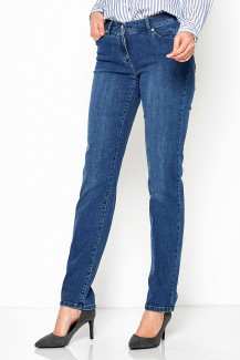 Toni Jeans Perfect Shape Slim Fit mid blue used